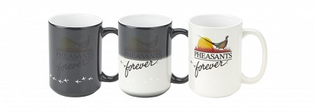 PF Magique Mug-Disappearing Logo-Black-16oz.