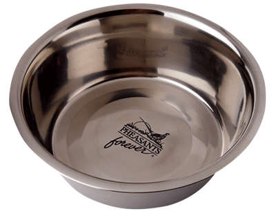 PF Stainless Steel 11 Cup Dog Dish